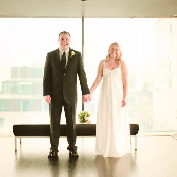 Guthrie theater wedding ceremony {Meghann & Matt}