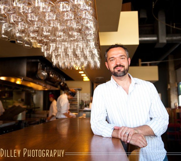 chef alex roberts restaurant alma minneapolis editorial portrait