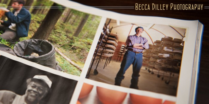 Photo featured in Saveur magazine {Wisconsin cheesemaker portraits}