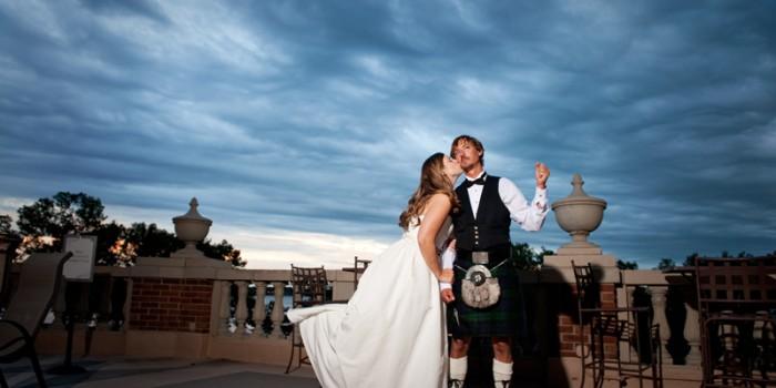 Calhoun Beach Club Wedding with dramatic weather {Andrea & Doug} preview