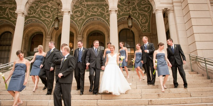 Midwest destination wedding with grandeur {Heather & Mike} Madison Wisconsin