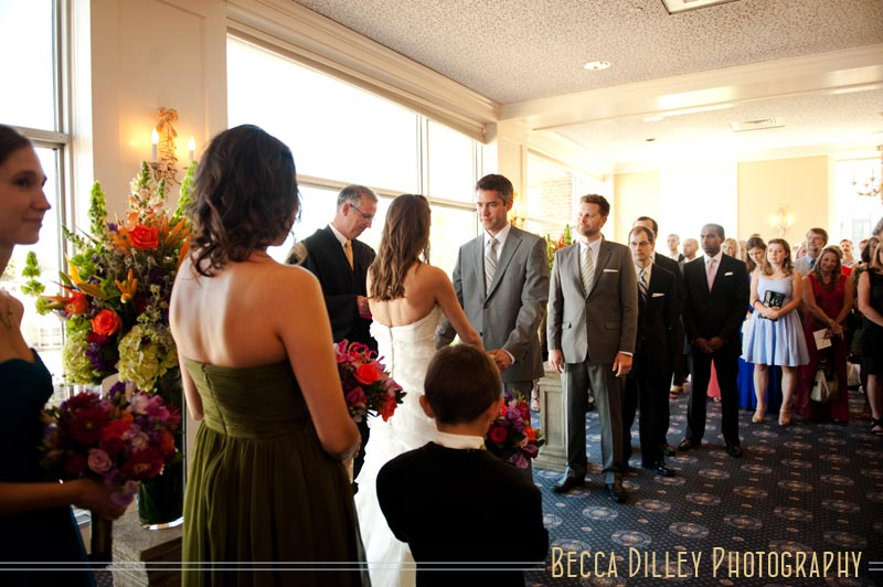 madison club wedding wi summer