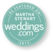 Minnesota wedding photographer featured on Martha Stewart weddings