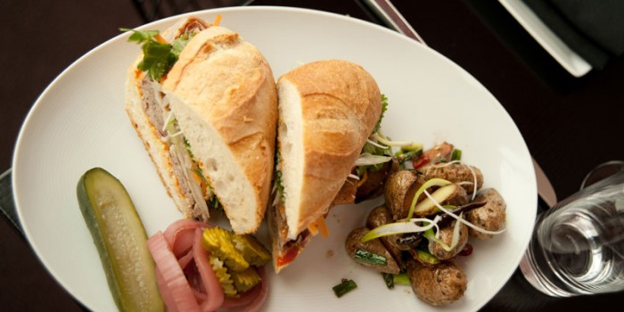 bahn mi sandwich minnesota lunch editorial food photography