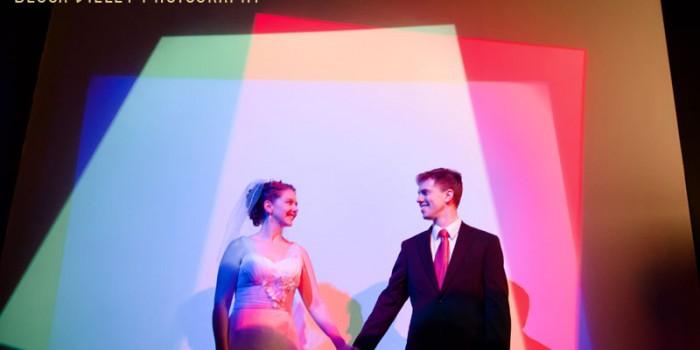 st paul science museum wedding pop light