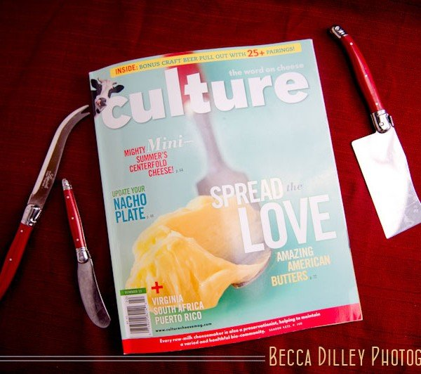 minneapolis wedding featured in Culture cheese magazine