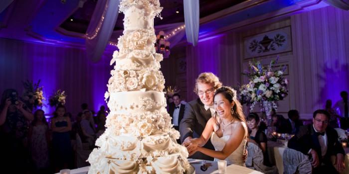 st paul hotel wedding cake mn