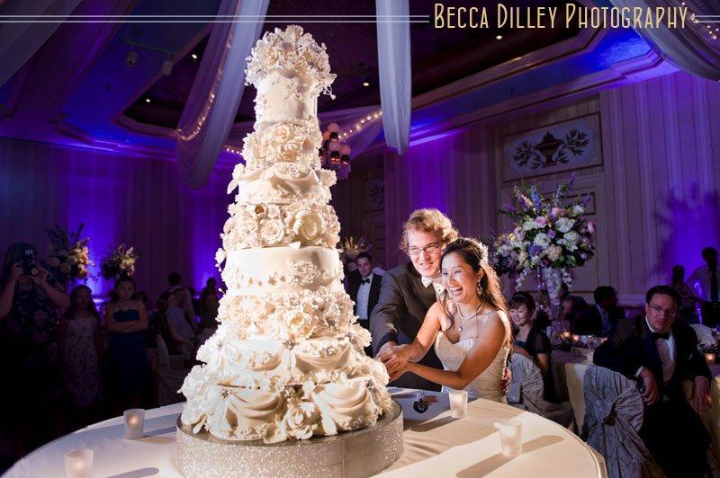 Stephanie Kevins St Paul Hotel Wedding Cake Minneapolis Wedding