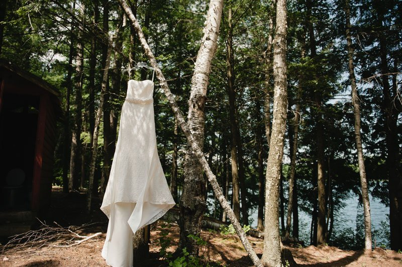 wisconsin northwoods wedding