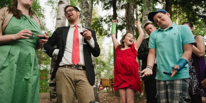 wedding hammerschlagen wi northwoods