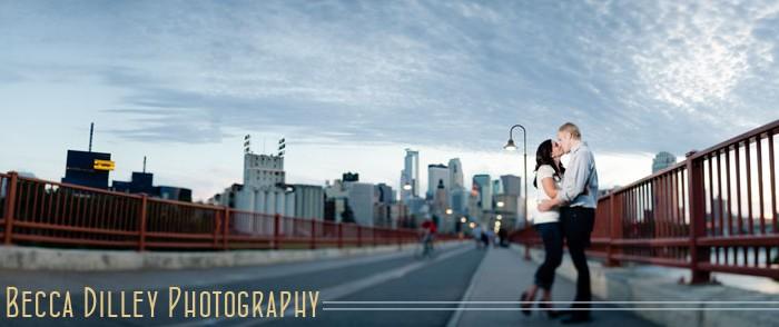 minneapolis wedding photographer skyline panorama
