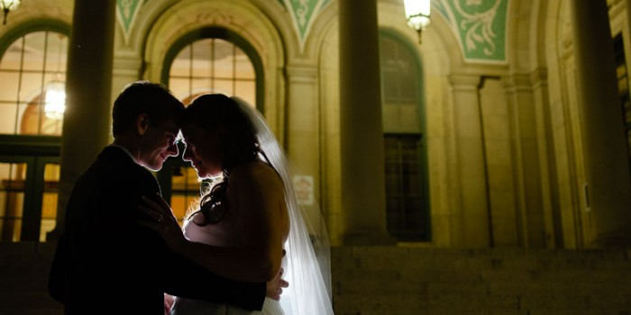 wedding photographer madison wi memorial union at night