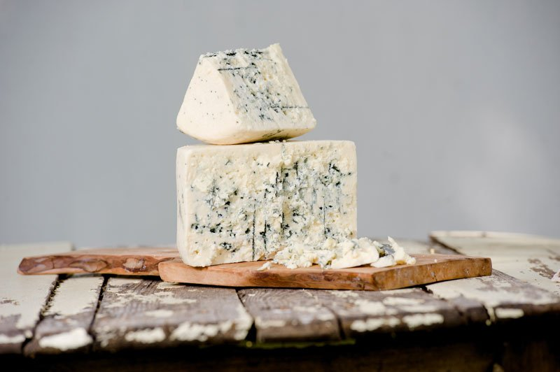 Cheese photos of Big Woods Blue by Shephards Way Farm Minnesota editorial photographer
