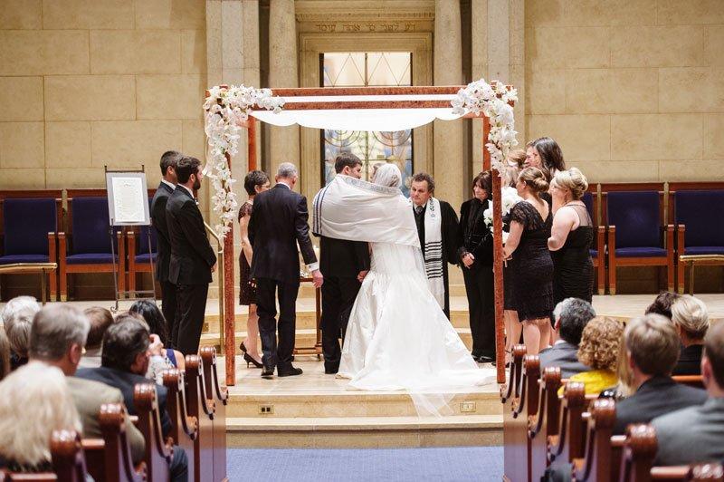 Temple Israel Wedding Minneapolis MN