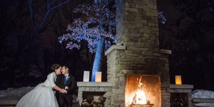 Silverwood Park wedding in winter Minneapolis