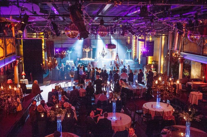 varsity theater wedding reception in winter minneapolis