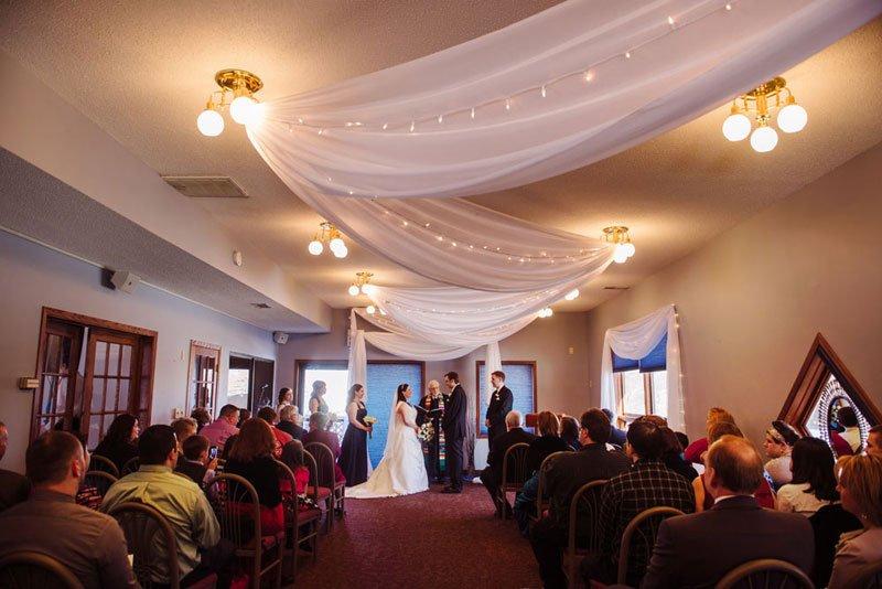 ceremony eden prairie mn wedding bent river golf club