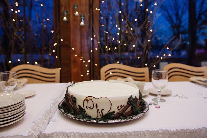mn wedding at silverwood park center in winter