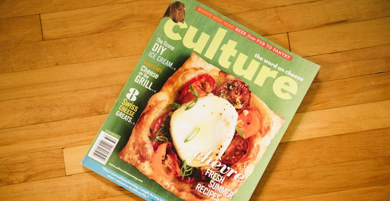 Crave Brothers Cheese photos featured in Culture Magaine