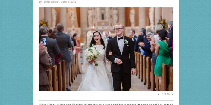 st paul wedding featured on MSP weddings magazine