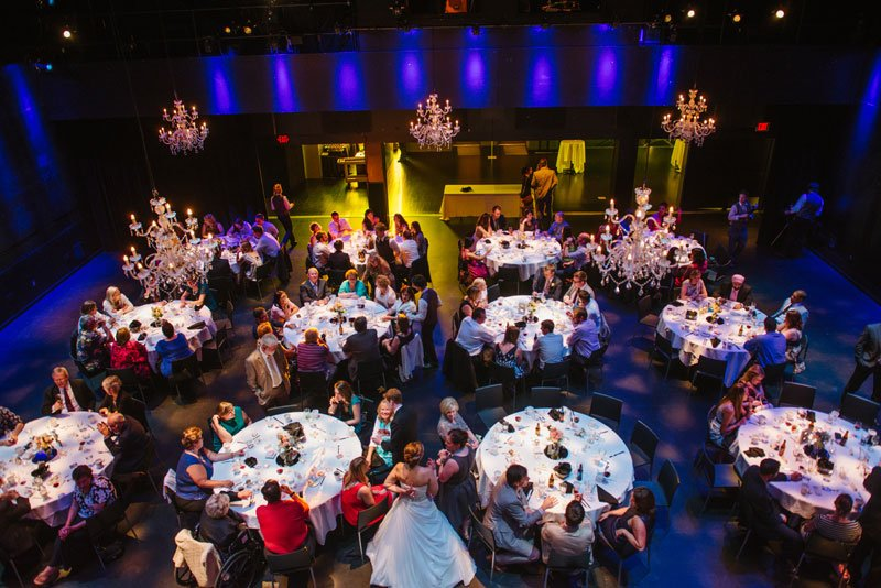 wedding reception at Guthrie theater minneapolis mn
