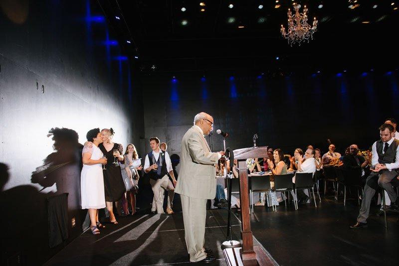 Guthrie theater wedding reception toasts