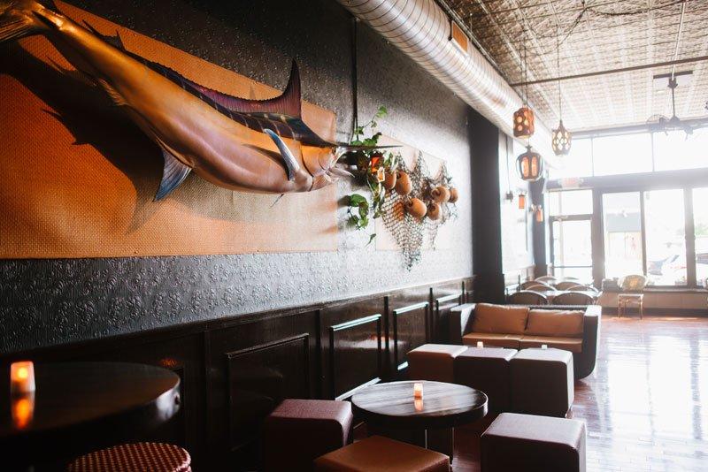 interior of torpedo room at eat street social