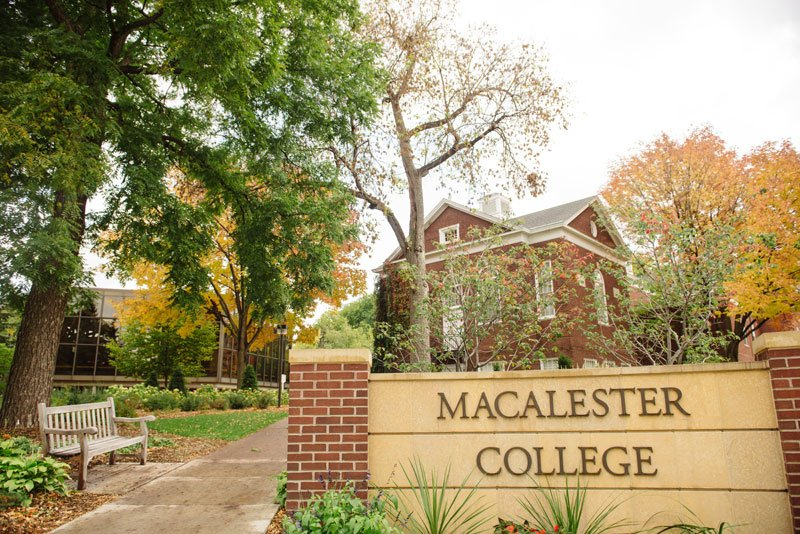 macalester college wedding ceremony