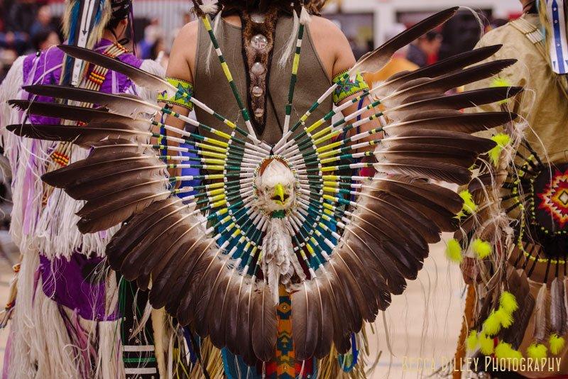 minneapolis pow wow bald eagle dress