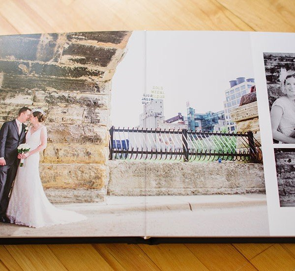 Behind The Scenes Of A Wedding Album Modern Embossed Navy Leather Flush Mount