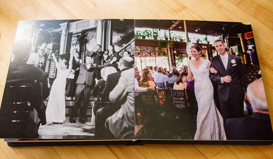 Navy Leather flush mount wedding album loring pasta bar wedding fun