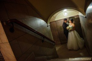 little corner of the James J Hill Library for  Wedding Photography
