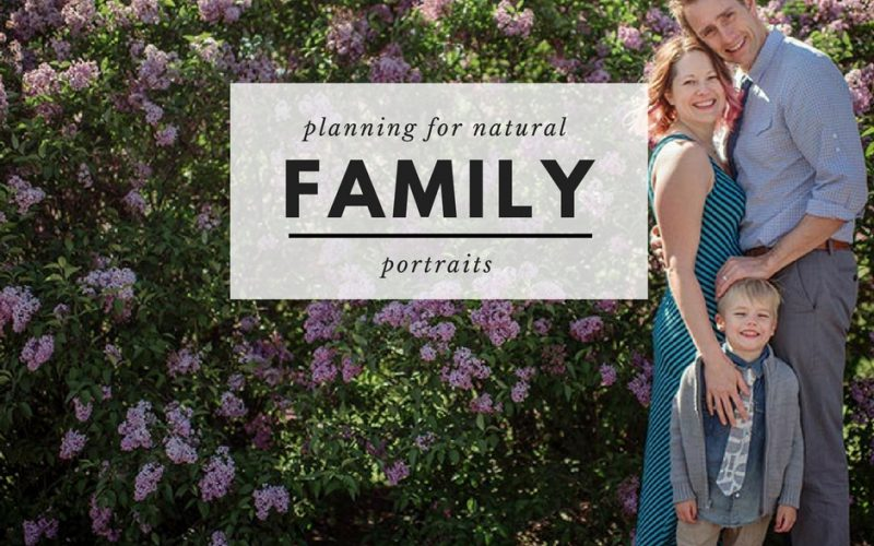 tips for natural feeling family photos