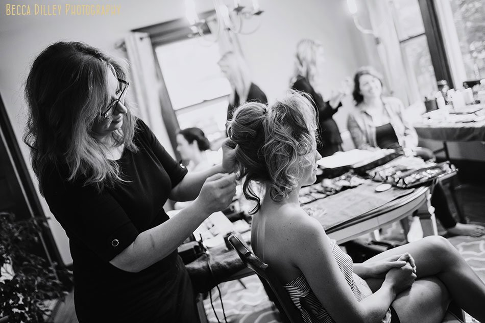 brett dorrian artistry studios in home wedding makeup