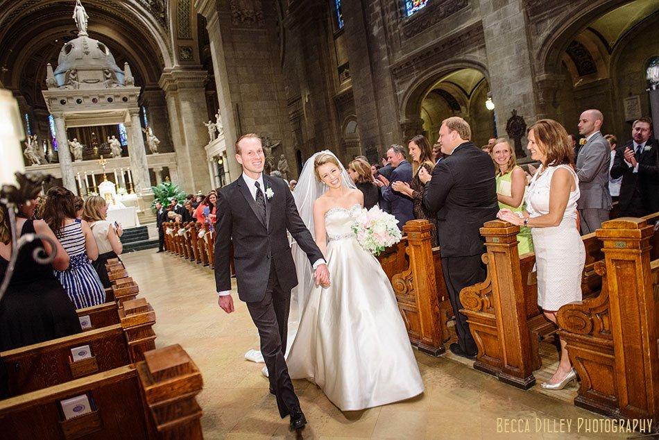 History Center Wedding And Basilica Minnesota
