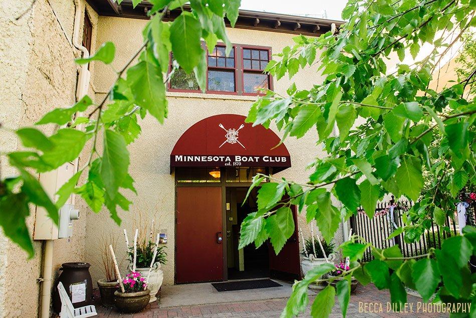 minnesota boat club on raspberry island st paul mn