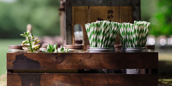 wisconsin themed straw holder hilltop in Spring Green WI