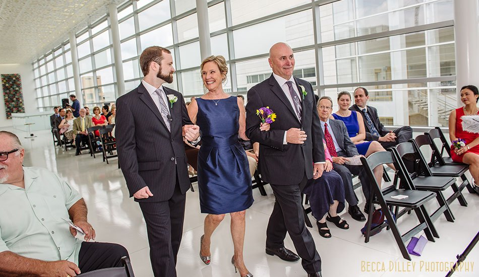 madison public library wedding in new space