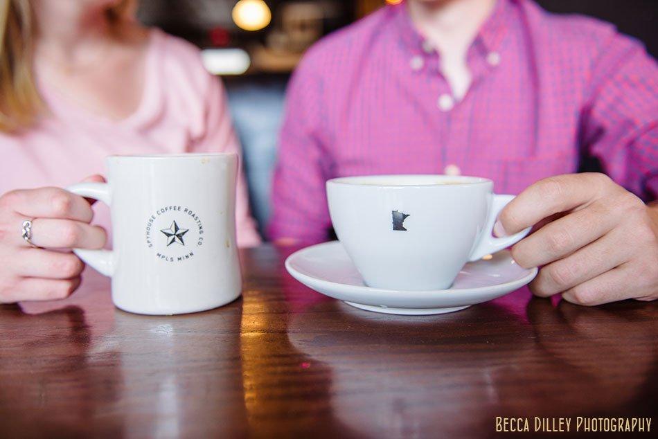 spyhouse coffee engagement photos minneapolis