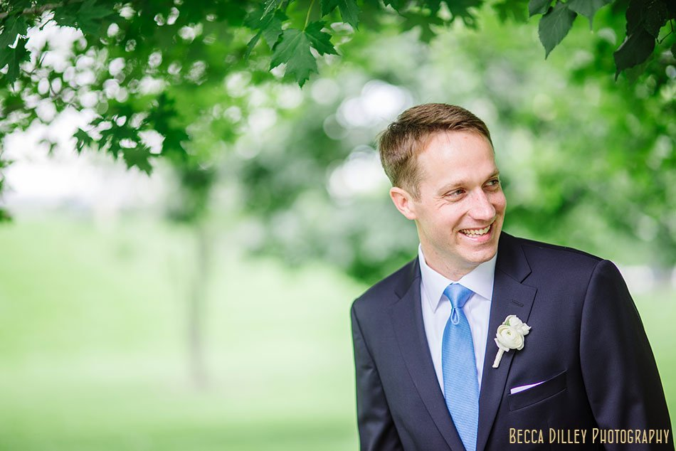 groom at gold medal park
