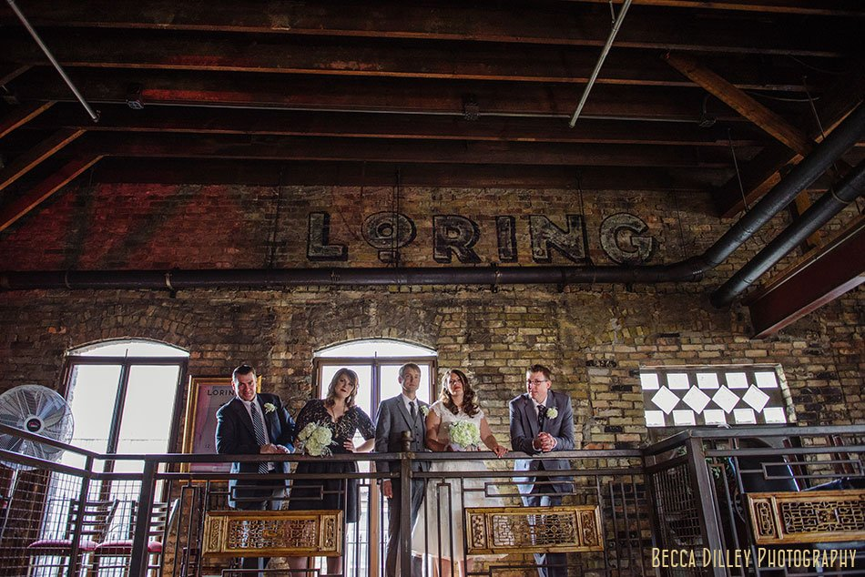 loring pasta bar wedding minneapolis ceremony