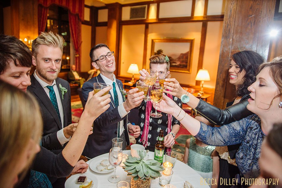 Minneapolis club wedding