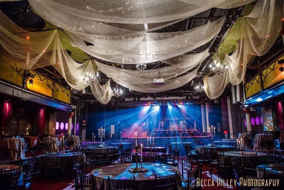 varsity theater wedding interior