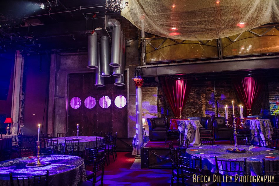 varsity theater wedding interior