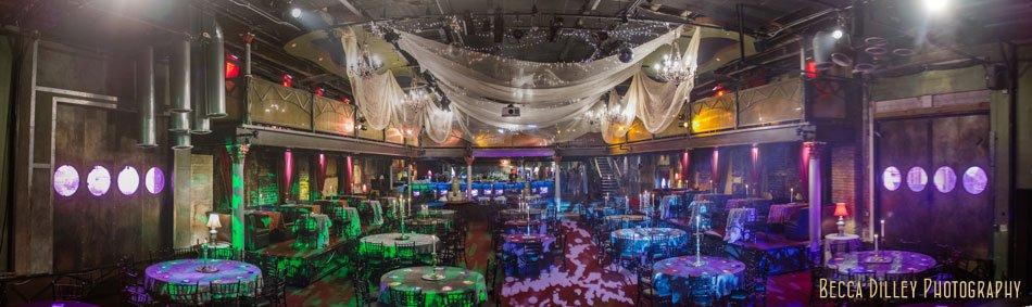 minneapolis wedding photographer varsity theater wedding interior