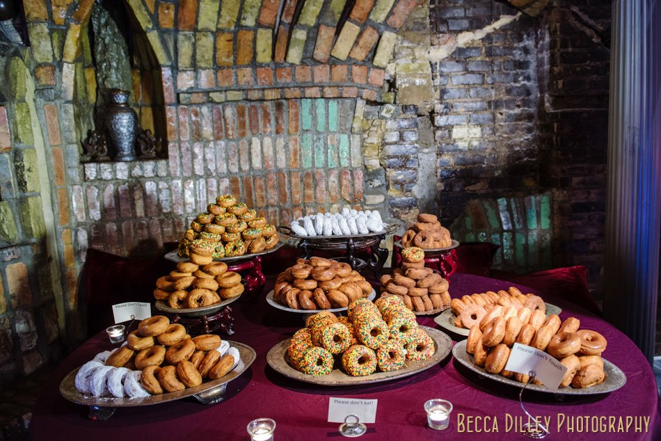 doughnuts from bakers wife for wedding