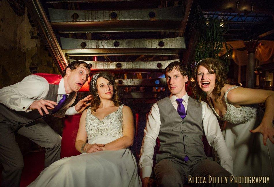 bride and groom experimental photo minneapolis wedding photographer