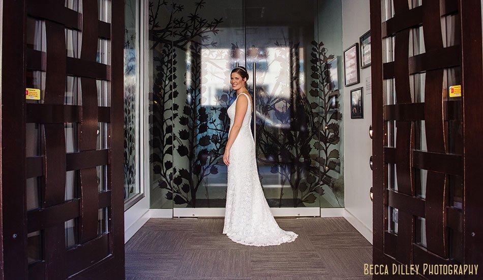 bride at le meridian hotel minneapolis