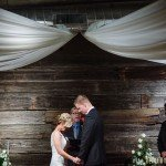 ceremony at lowertown event center wedding st paul mn