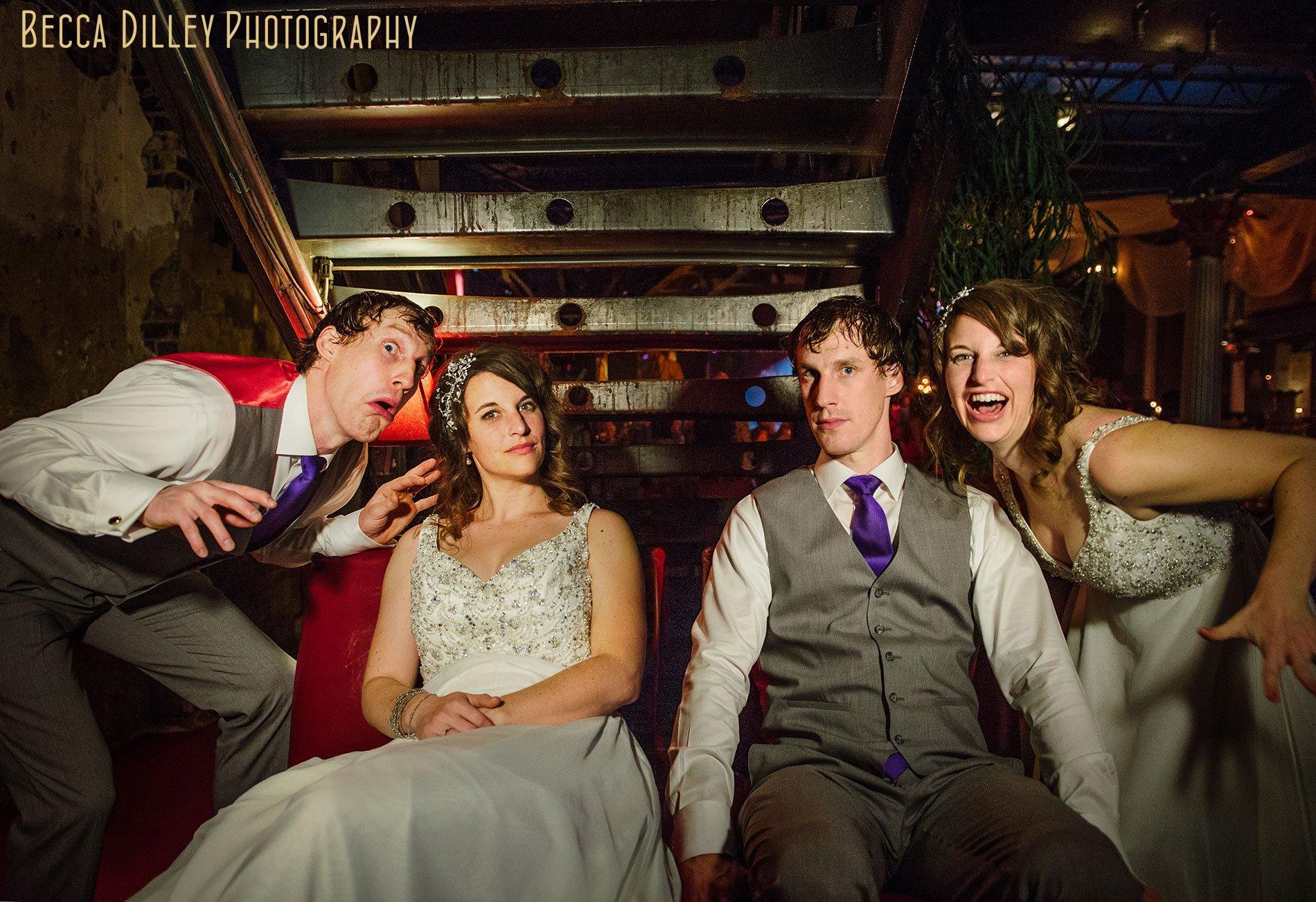 best minneapolis wedding photographer funny bride and groom